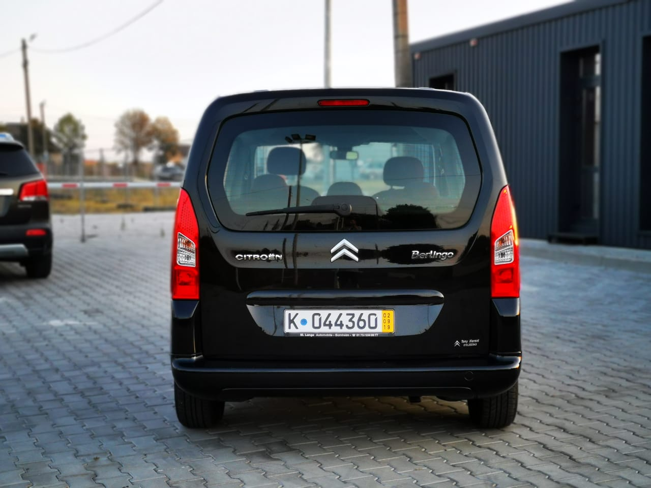 Пригон Citroen Berlingo black-14