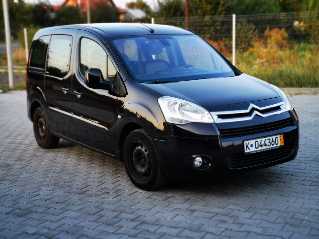 Пригон Citroen Berlingo black-17