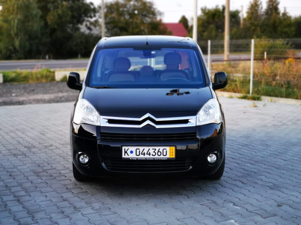 Пригон Citroen Berlingo black-18