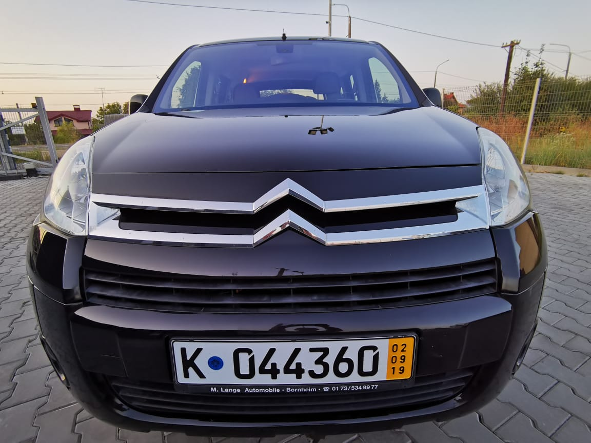 Пригон Citroen Berlingo black-4