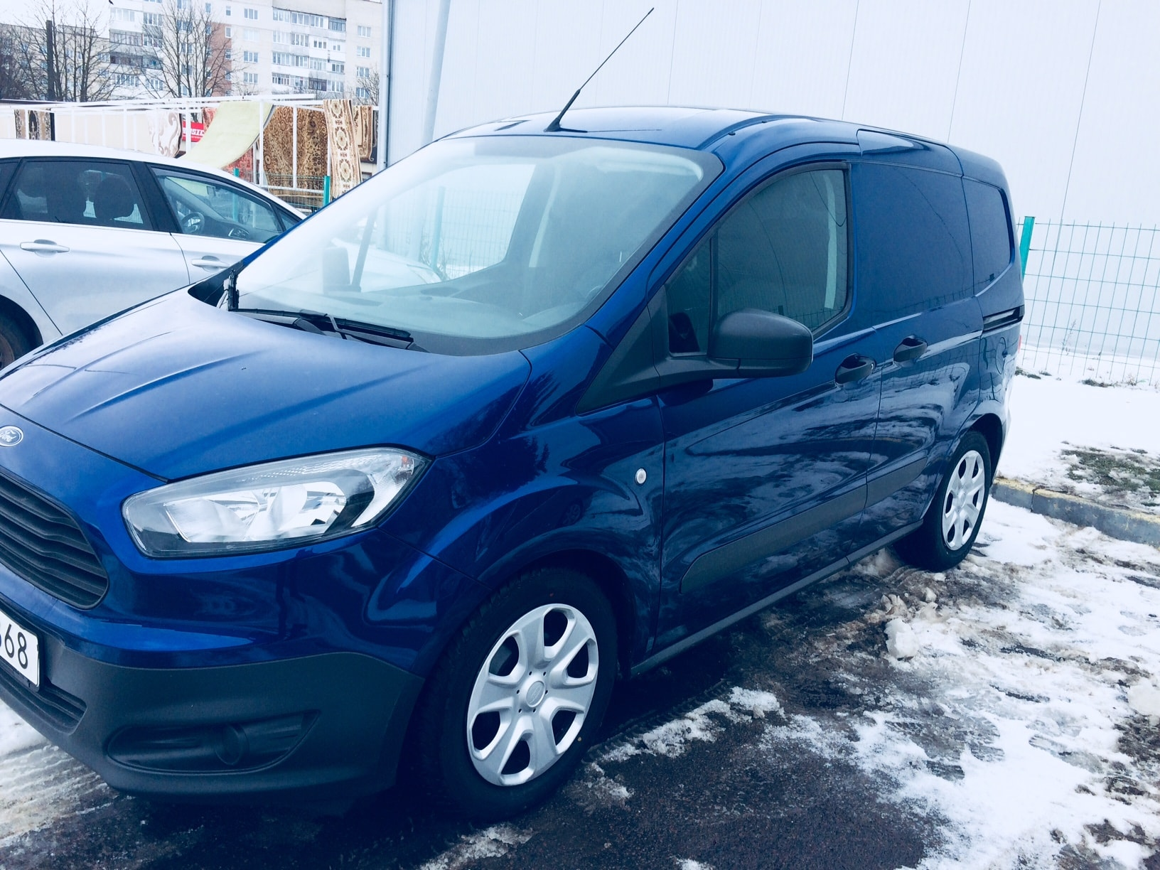 Пригон Ford transit courier-1