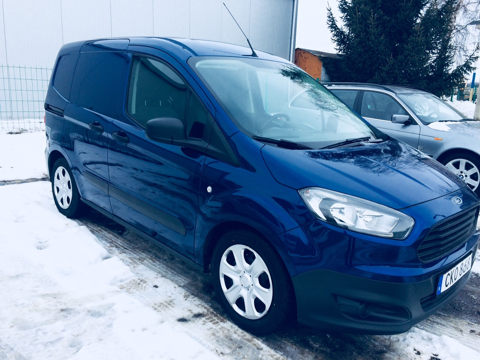 Пригон Ford transit courier-2