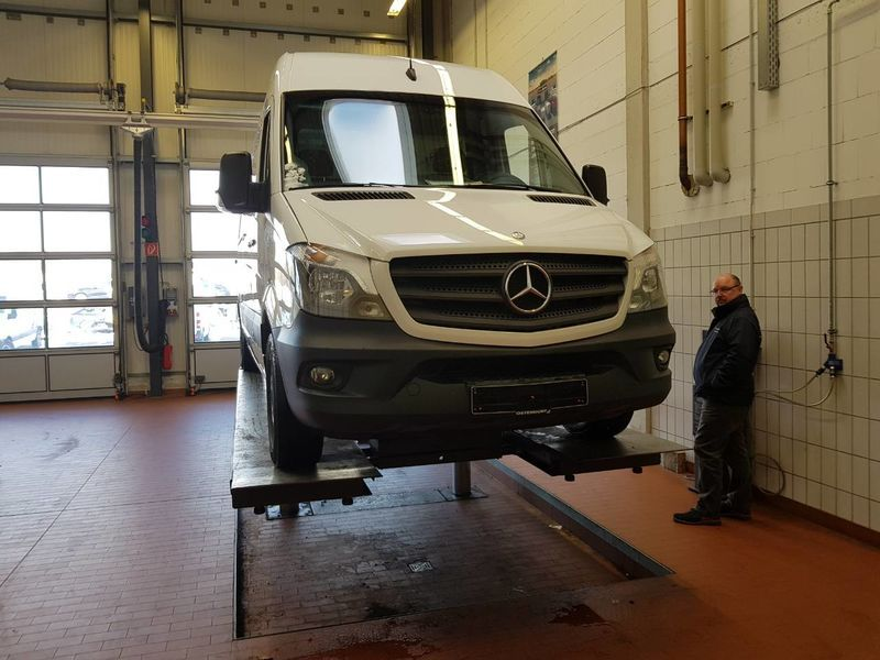 Пригон Mercedes-Benz Sprinter 316-5